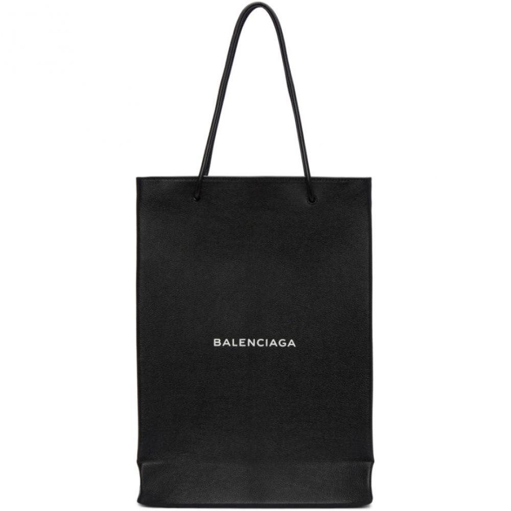 バレンシアガ メンズ バッグ トートバッグ【Black Logo Shopper Tote】