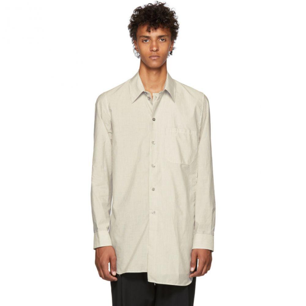 アンドゥムルメステール メンズ トップス シャツ【Black & White Striped Penn Shirt】