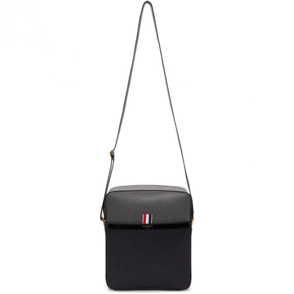 トム ブラウン メンズ バッグ【Black & Grey Camera Bag】