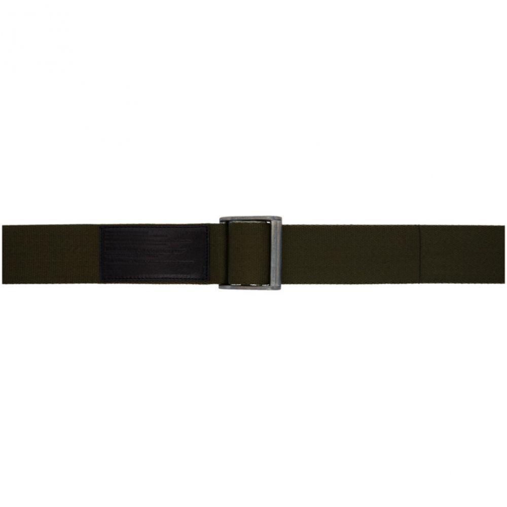 ユリウス メンズ ベルト【Khaki Nylon Tape Belt】