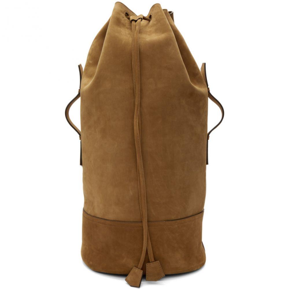 968df5010dc8 アミアレクサンドルマテュッシ メンズ バッグ バックパック・リュック【Brown Military Backpack】 オンライン smartb.co
