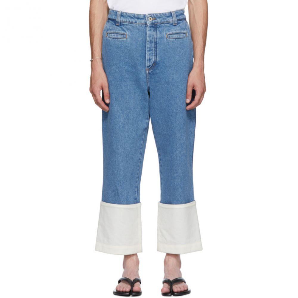 ロエベ メンズ ボトムス・パンツ ジーンズ・デニム【Blue Fisherman Jeans】