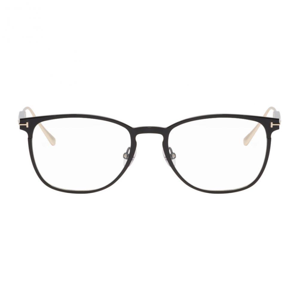 トム フォード メンズ メガネ・サングラス【Black FT5483 Glasses】