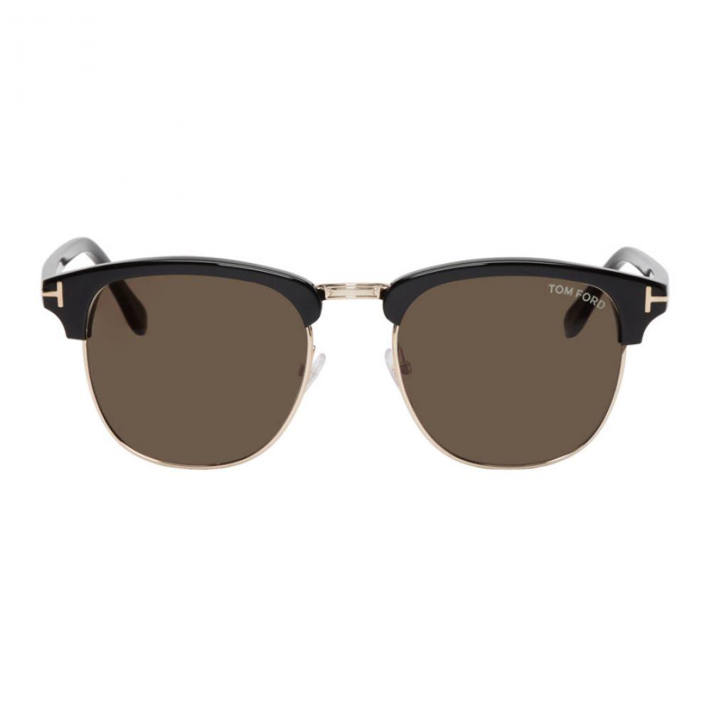 トム フォード メンズ メガネ・サングラス【Black Henri Sunglasses】