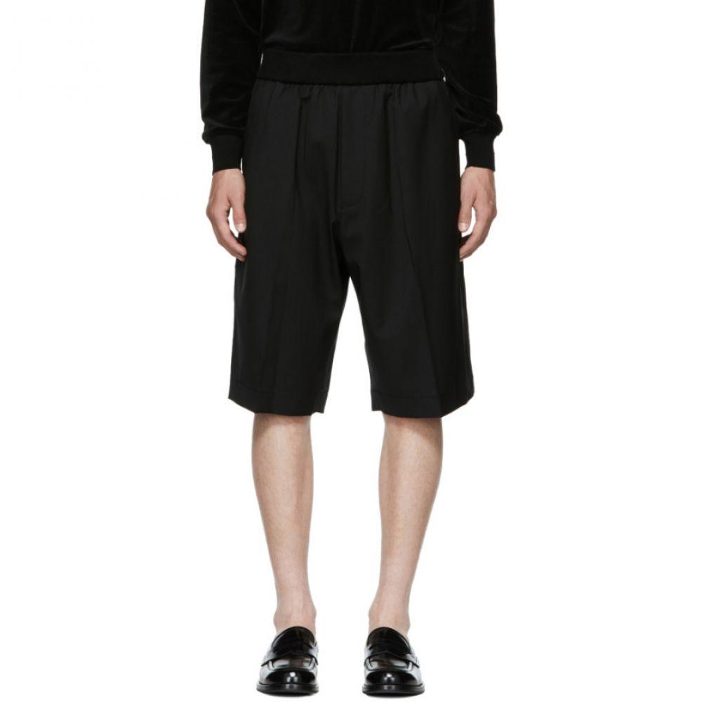 スリーワン フィリップ リム メンズ ボトムス・パンツ ショートパンツ【Black Tapered Shorts】