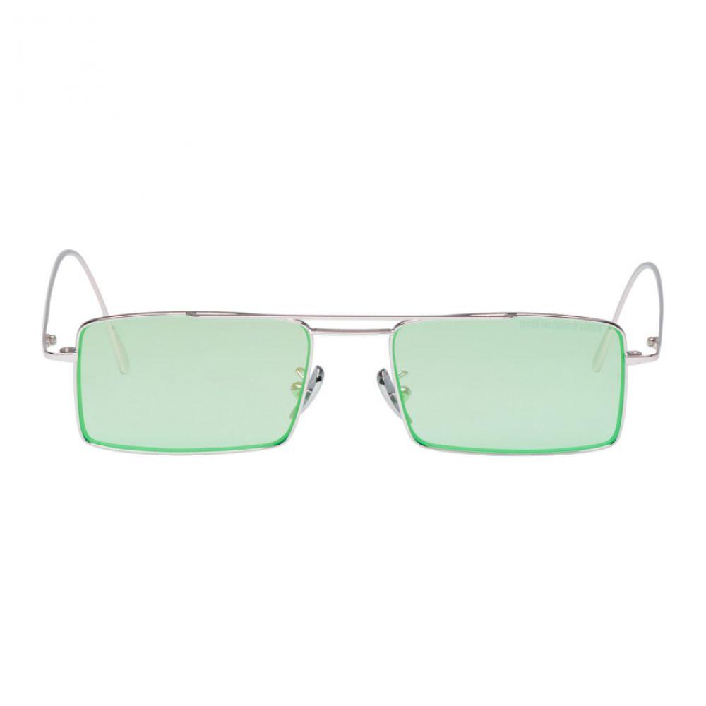 カトラー アンド グロス メンズ メガネ・サングラス【Silver & Green 1308PPL-07 Sunglasses】