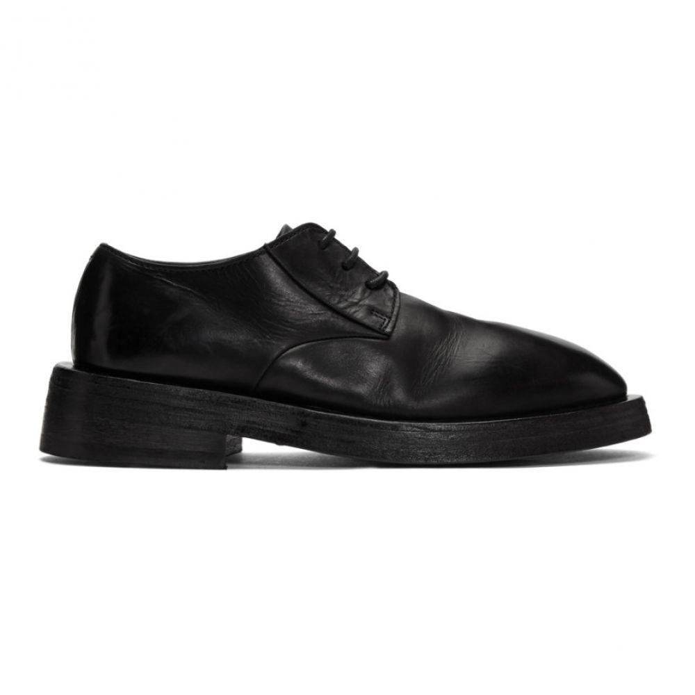 マルセル メンズ シューズ・靴 革靴・ビジネスシューズ【Black Mentone Derbys】