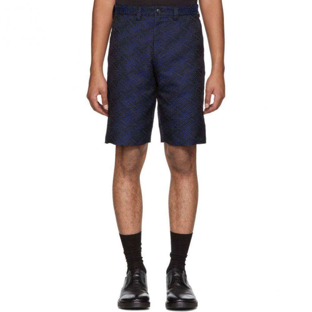 ブルーブルージャパン メンズ ボトムス・パンツ ショートパンツ【Blue Satin Damask Shorts】