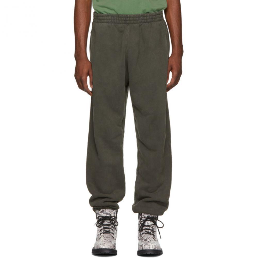 アディダス イージー メンズ ボトムス・パンツ スウェット・ジャージ【Green Shrunken Sweatpants】