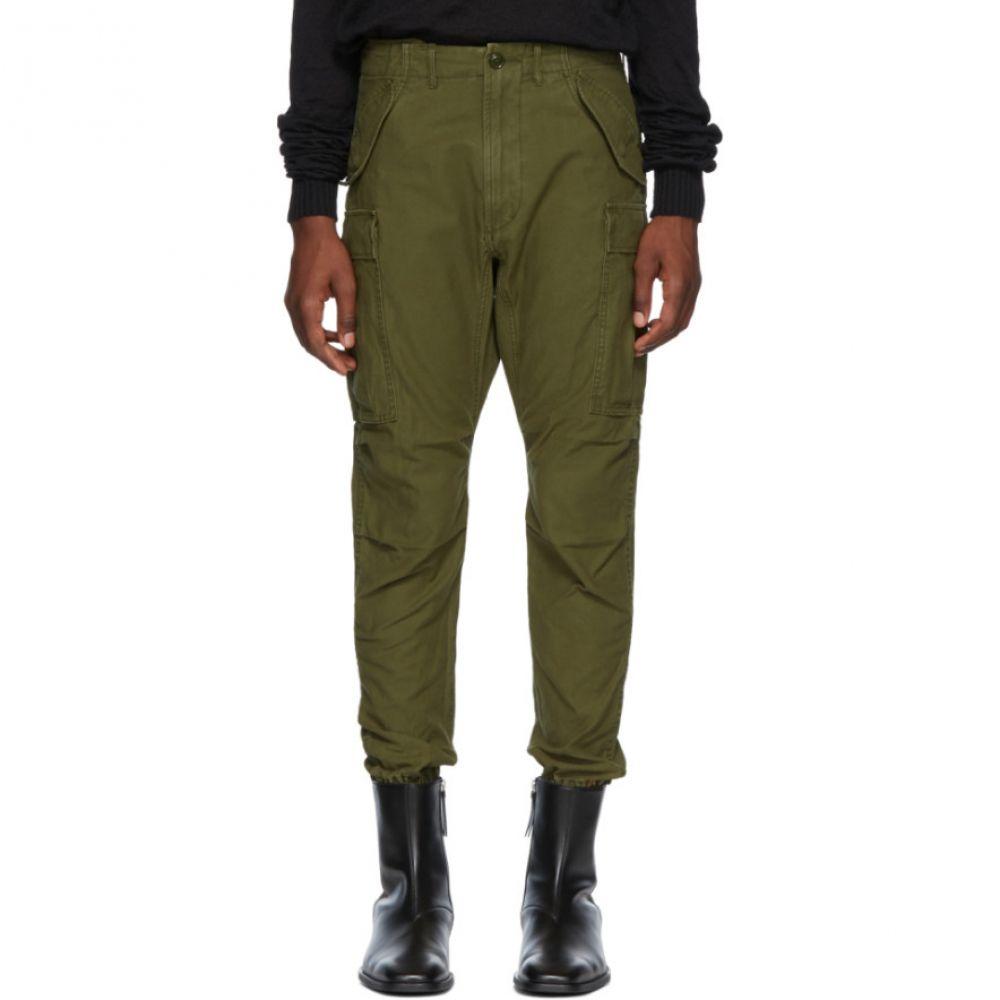 アール サーティーン メンズ ボトムス・パンツ カーゴパンツ【Green Surplus Military Cargo Pants】