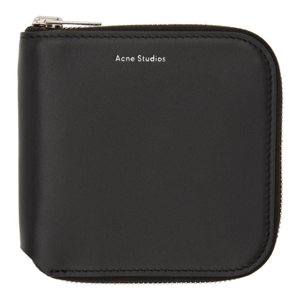 アクネ ストゥディオズ メンズ 財布【Black Small Csarite S Wallet】