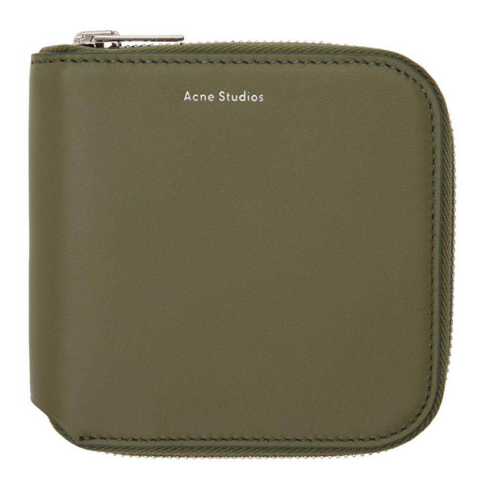 アクネ ストゥディオズ メンズ 財布【Green Csarite Wallet】