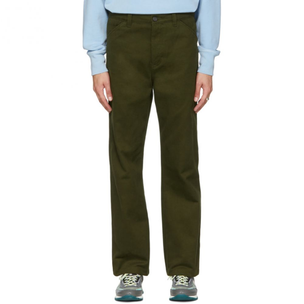 アクネ ストゥディオズ メンズ ボトムス・パンツ【Green Workwear Trousers】