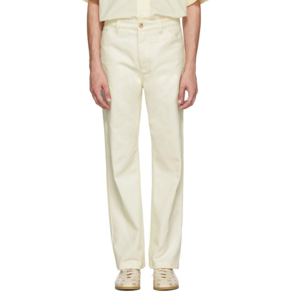 アクネ ストゥディオズ メンズ ボトムス・パンツ【White Workwear Trousers】
