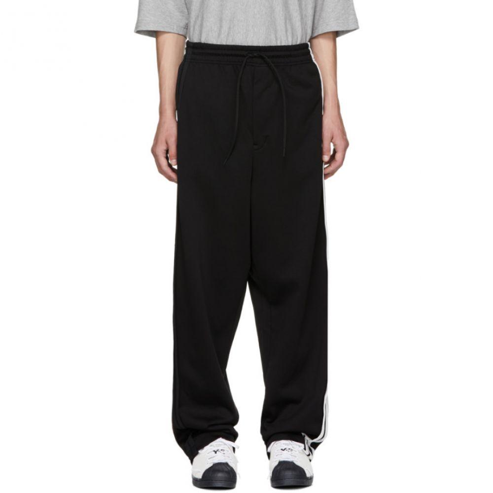ワイスリー メンズ ボトムス・パンツ スウェット・ジャージ【Black 3-Stripe Sweatpants】