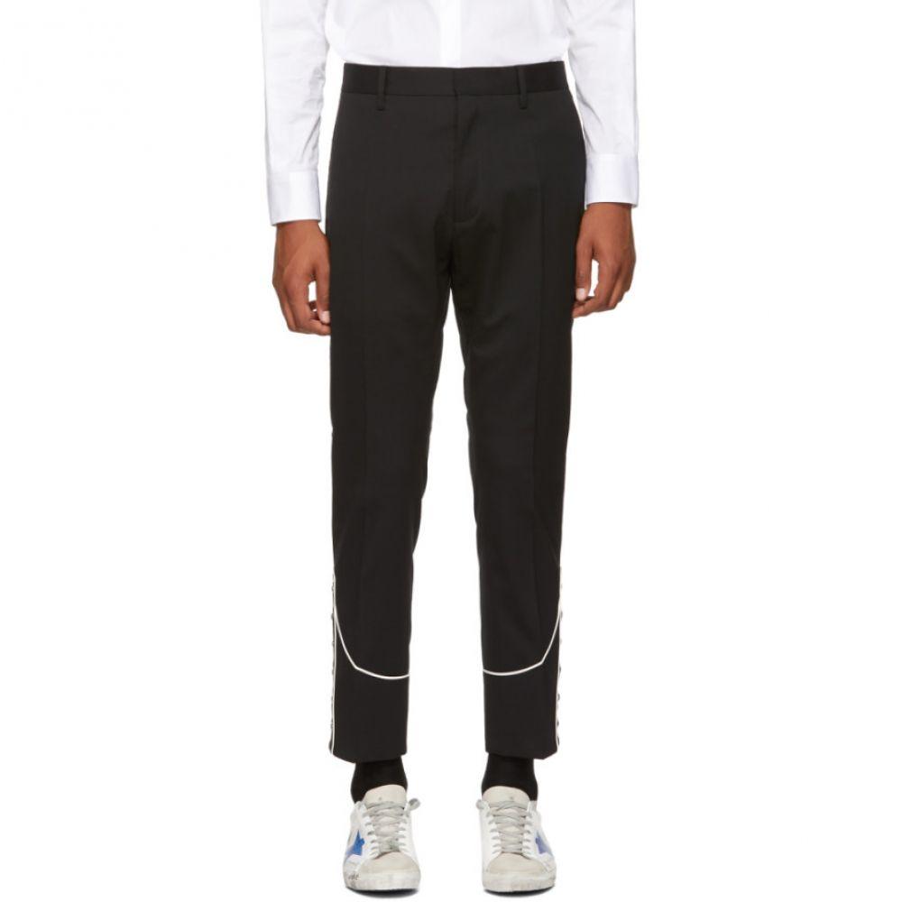 ディースクエアード メンズ ボトムス・パンツ【Black Stretch Wool Cigarette Trousers】