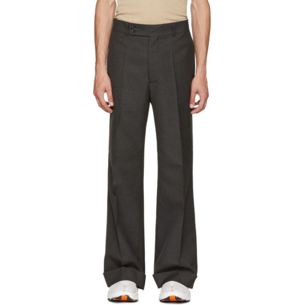 メゾン マルジェラ メンズ ボトムス・パンツ【Grey Rolled Cuff Trousers】