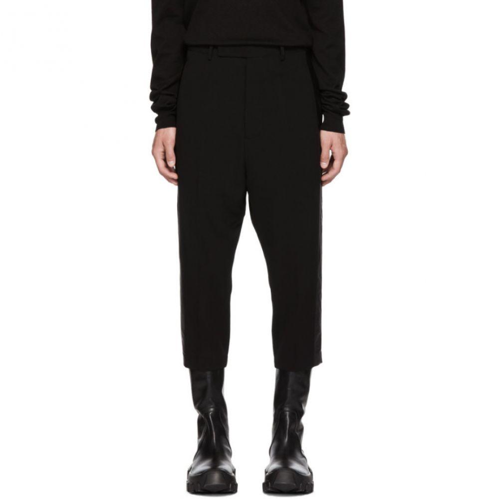 リック オウエンス メンズ ボトムス・パンツ クロップド【Black Cropped Tux Trousers】