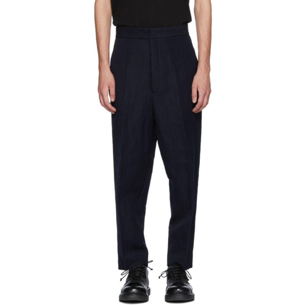 ジル サンダー メンズ ボトムス・パンツ【Navy Roman Gabardine Trousers】