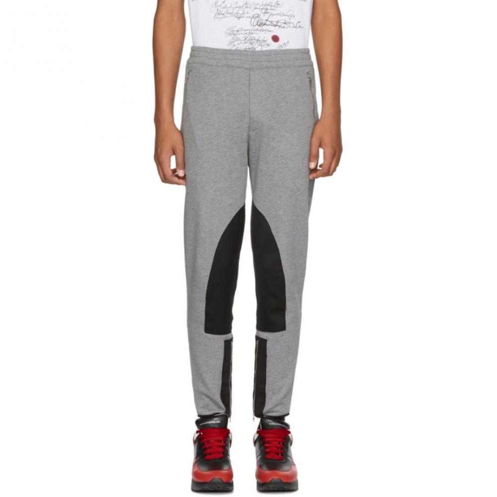 アレキサンダー マックイーン メンズ ボトムス・パンツ スウェット・ジャージ【Grey Organic Lounge Pants】