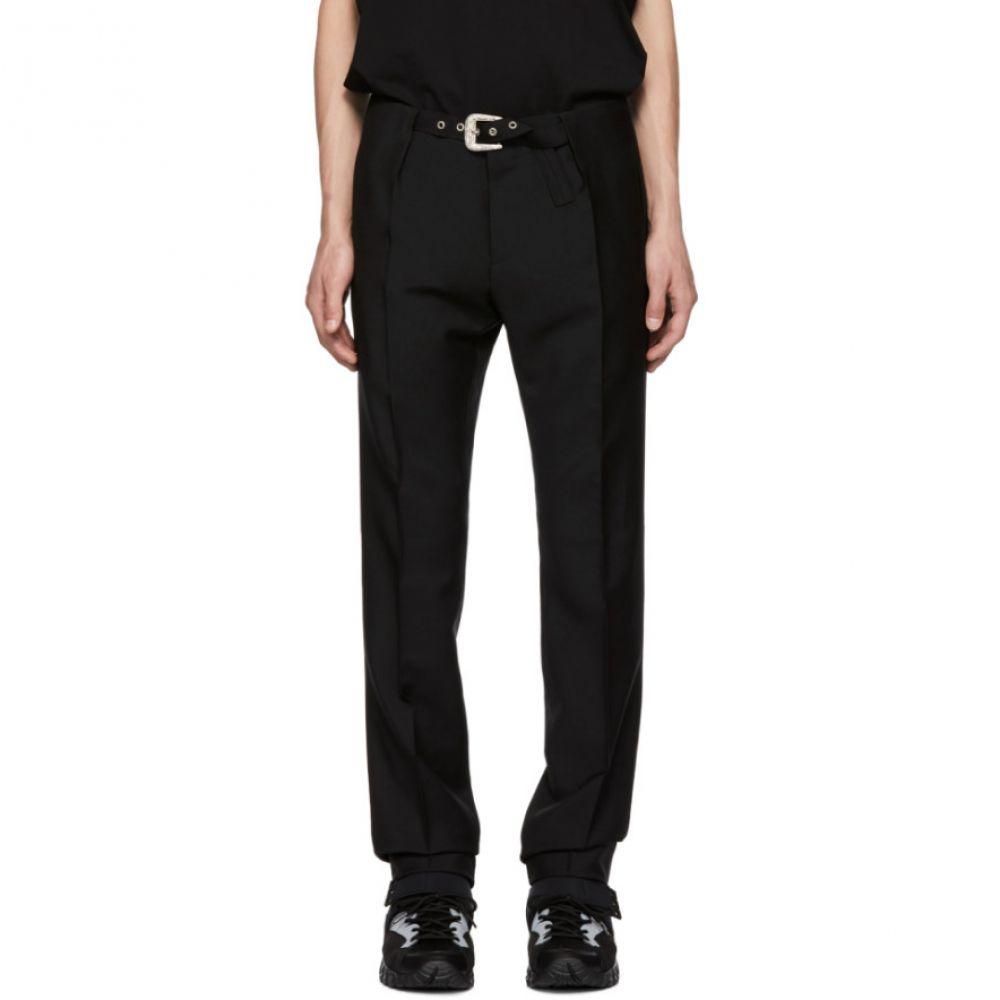 ジバンシー メンズ ボトムス・パンツ【Black Belt Trousers】