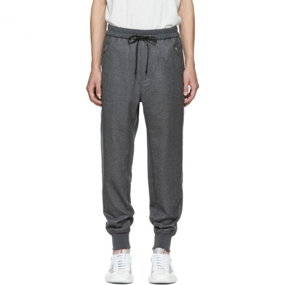 スリーワン フィリップ リム メンズ ボトムス・パンツ スウェット・ジャージ【Grey Cropped Drop Lounge Pants】