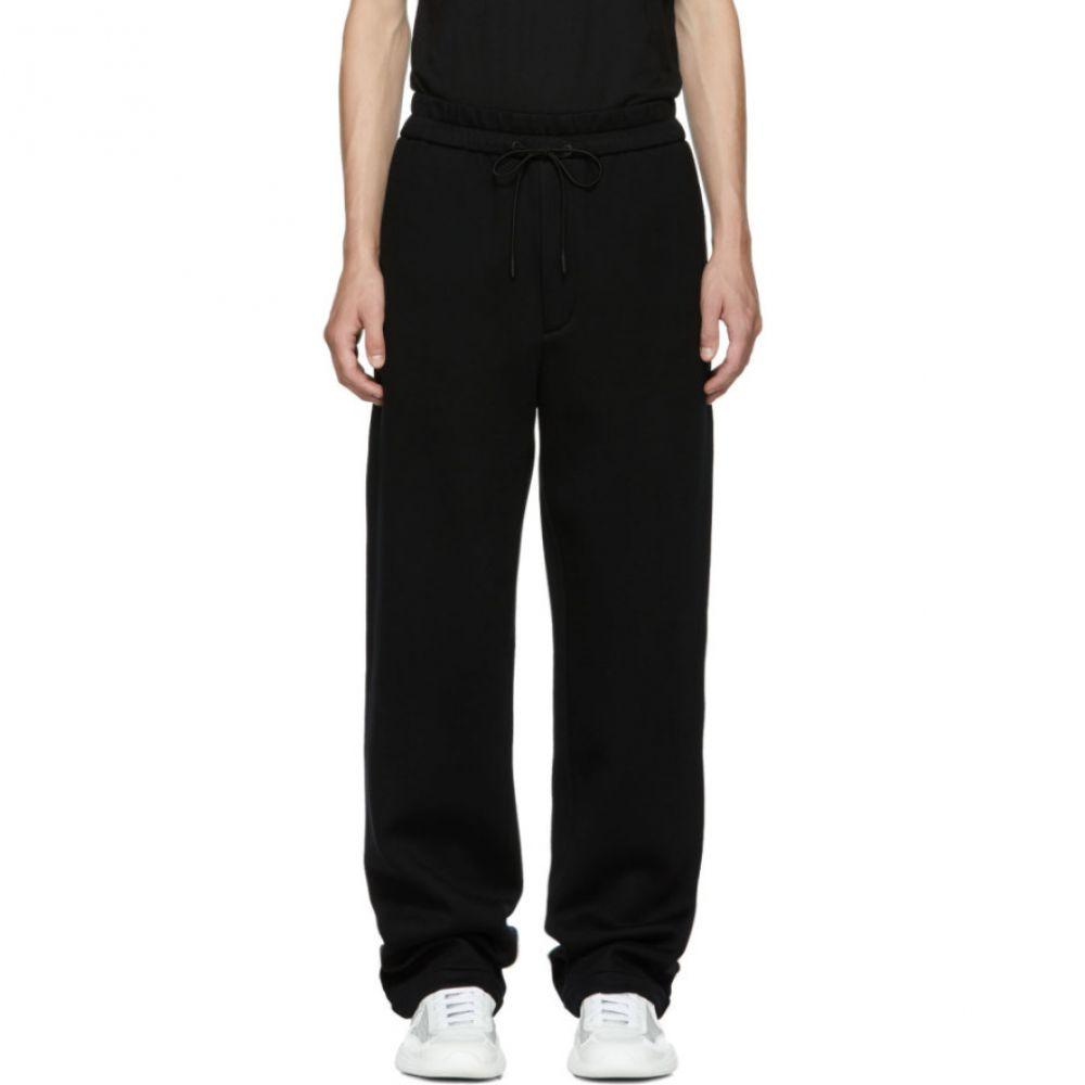 スリーワン フィリップ リム メンズ ボトムス・パンツ スウェット・ジャージ【Black Wide-Leg Sweatpants】