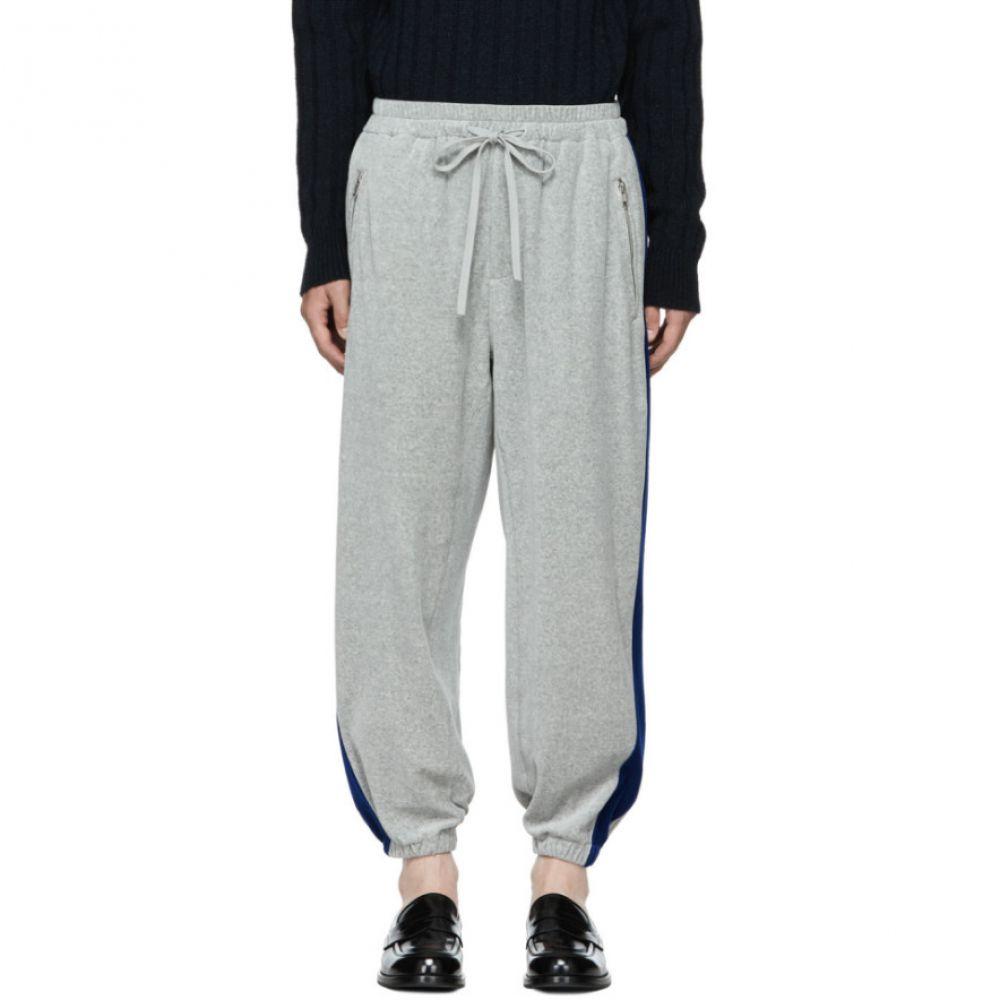 スリーワン フィリップ リム メンズ ボトムス・パンツ スウェット・ジャージ【Grey & Blue Baggy Sweatpants】