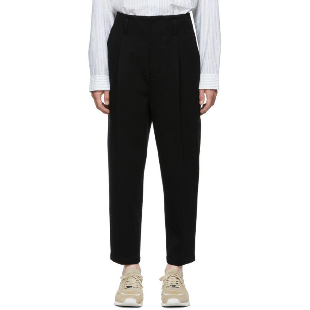 スリーワン フィリップ リム メンズ ボトムス・パンツ【Black Bonded Trousers】