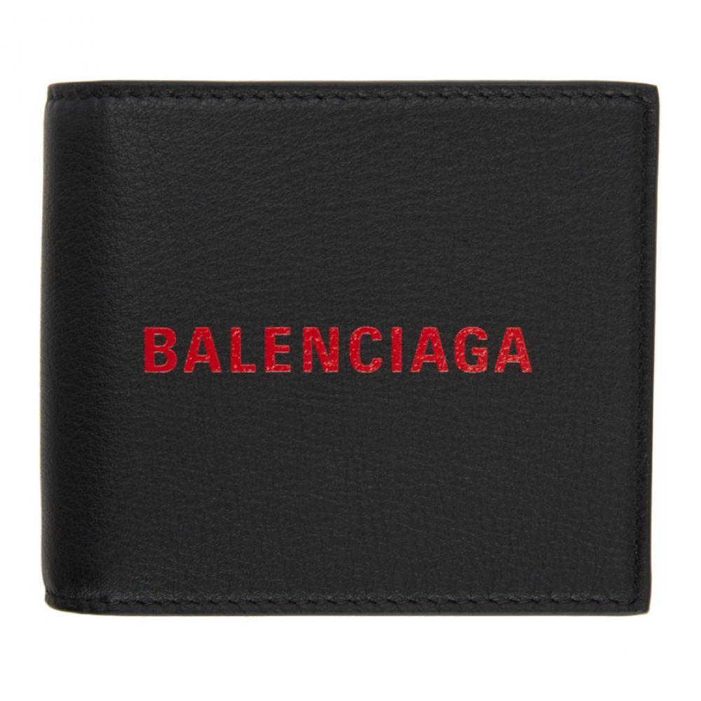 バレンシアガ メンズ 財布【Black Logo Everyday Wallet】