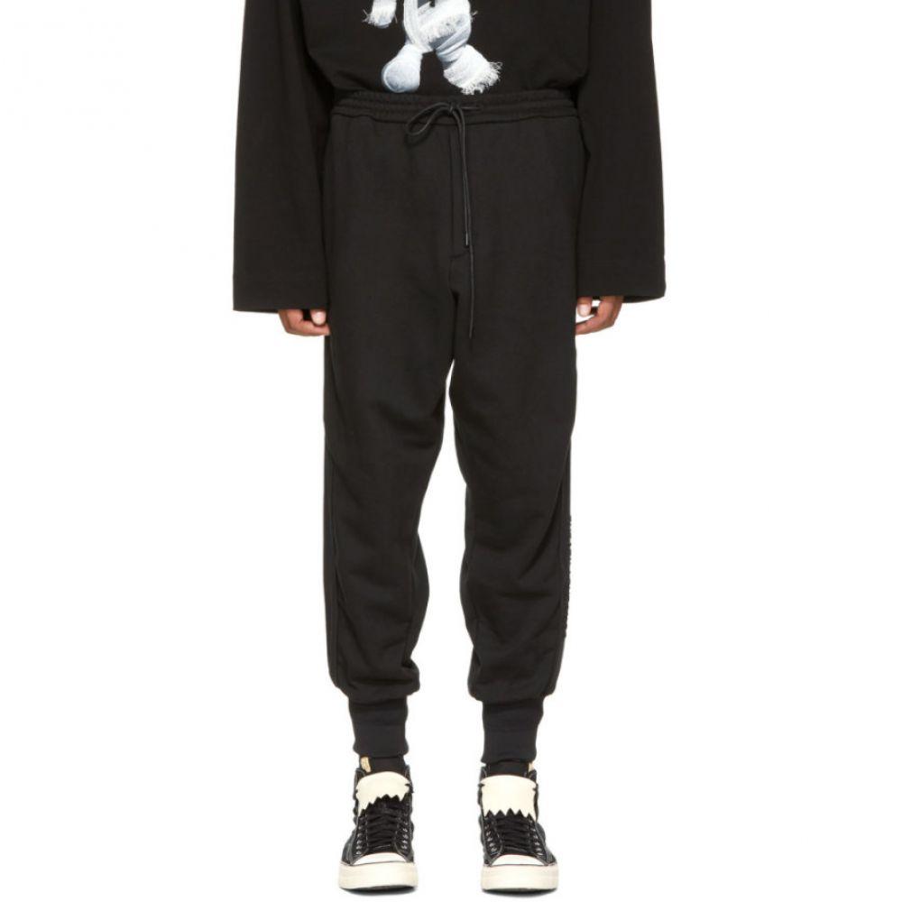 ジュン.J メンズ ボトムス・パンツ ジョガーパンツ【Black Cuffed Jogger Pants】