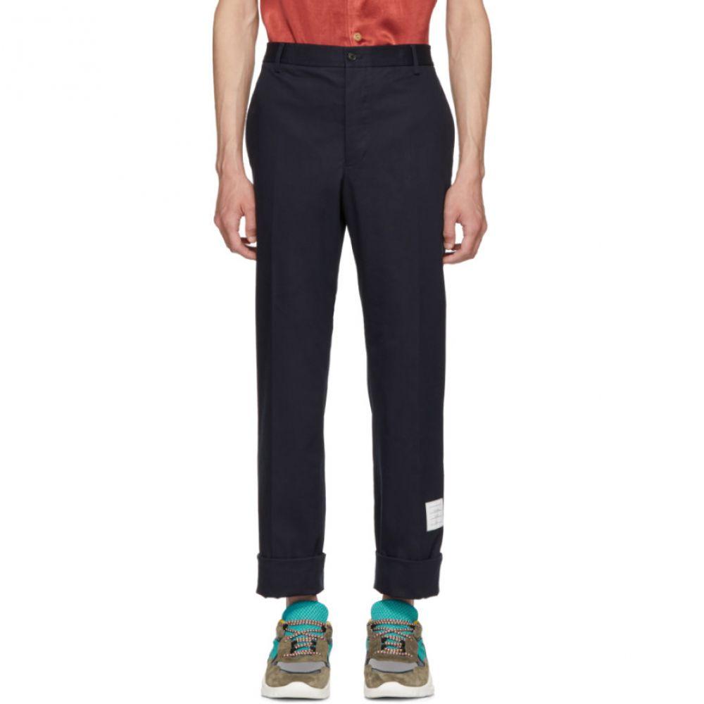 トム ブラウン メンズ ボトムス・パンツ チノパン【Navy Twill Unconstructed Chino Trousers】