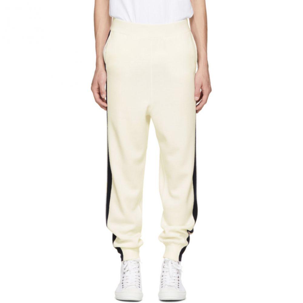 ステラ マッカートニー メンズ ボトムス・パンツ スウェット・ジャージ【Off-White Wool Stripe Sweatpants】