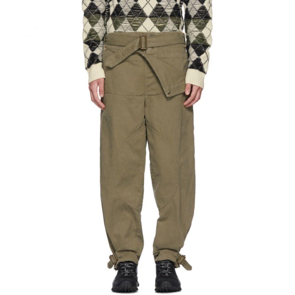 J.W.アンダーソン メンズ ボトムス・パンツ【Khaki Dyed Army Trousers】