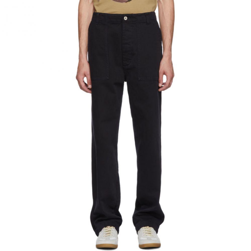 ロエベ メンズ ボトムス・パンツ【Navy Patch Pocket Trousers】