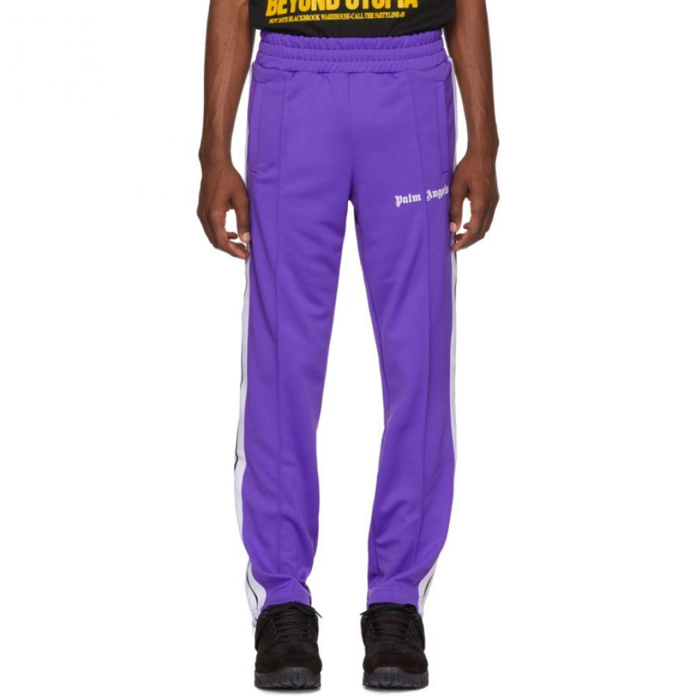 パーム エンジェルス メンズ ボトムス・パンツ スウェット・ジャージ【Purple Classic Track Pants】