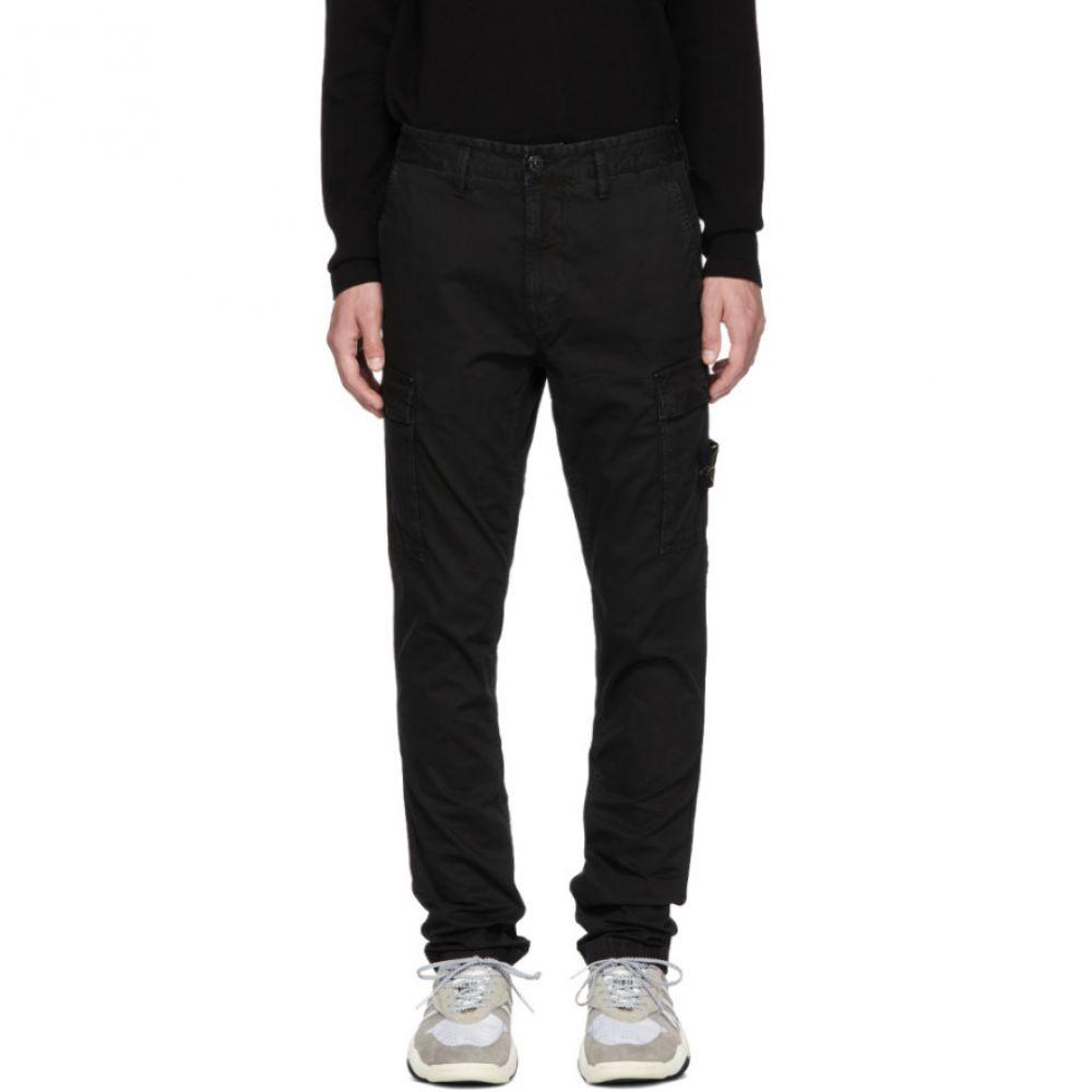 ストーンアイランド メンズ ボトムス・パンツ カーゴパンツ【Black Cargo Pants】