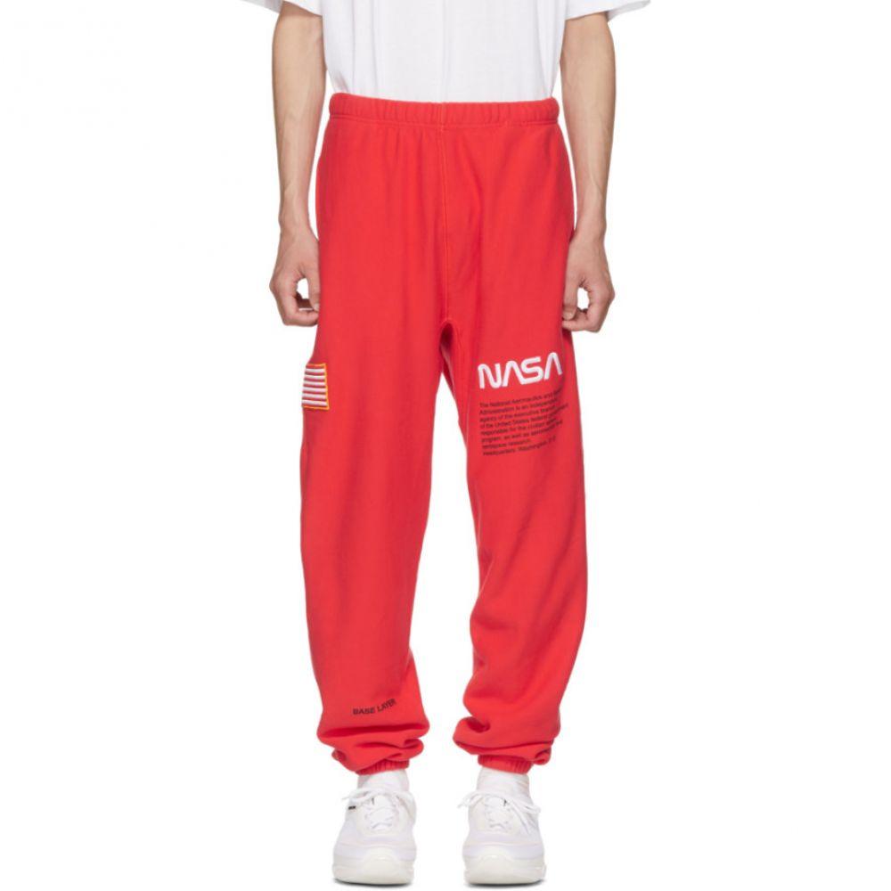 ヘロン プレストン メンズ ボトムス・パンツ スウェット・ジャージ【Red NASA Edition Lounge Pants】