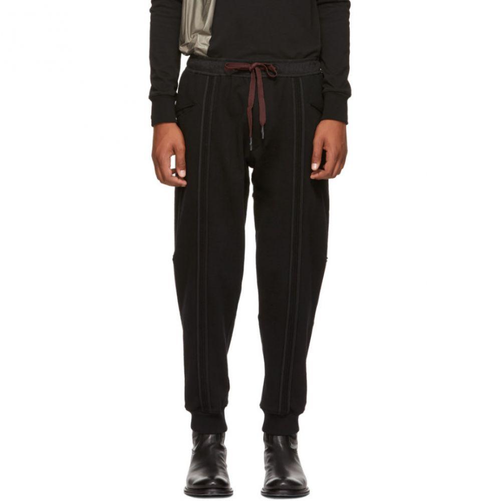 ジギー チェン メンズ ボトムス・パンツ スウェット・ジャージ【Black Vertical Stripe Lounge Pants】
