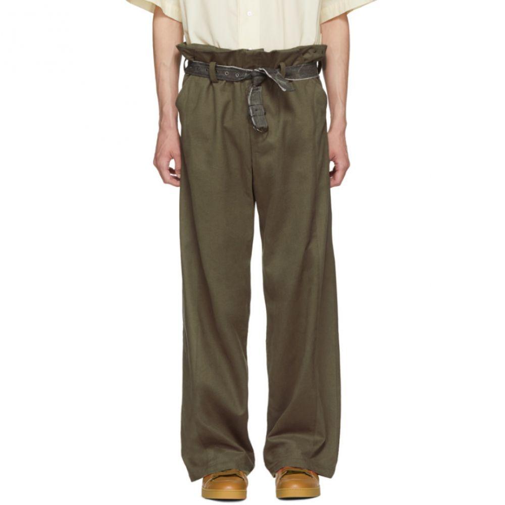 セント アンリ メンズ ボトムス・パンツ【SSENSE Exclusive Tan Laurentide Trousers】