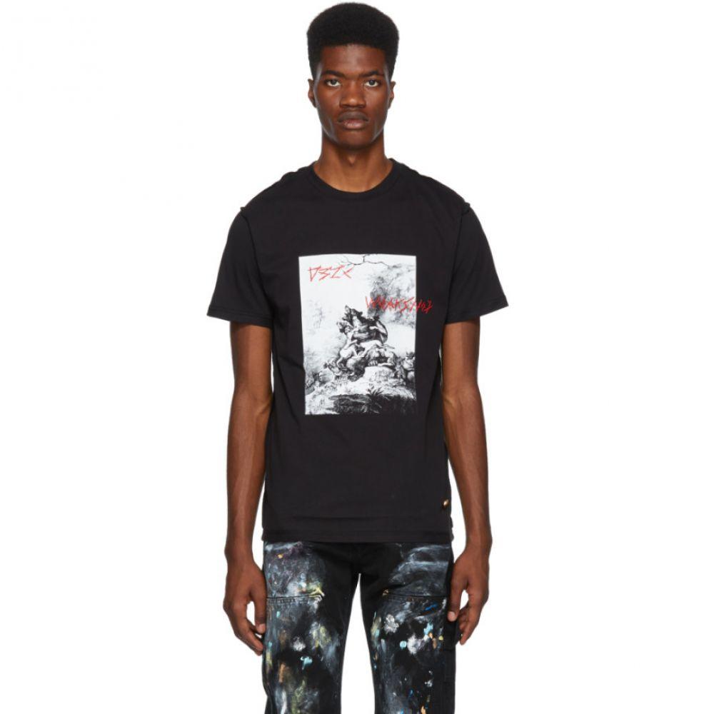 032c メンズ トップス Tシャツ【Black BMC Printed T-Shirt】