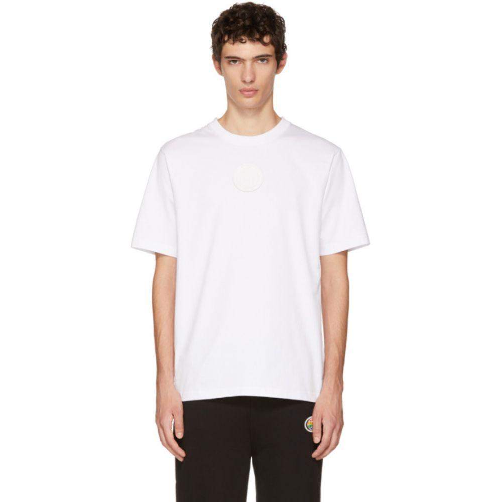 ザンダー ゾウ メンズ トップス Tシャツ【White Jersey Chest Patch T-Shirt】