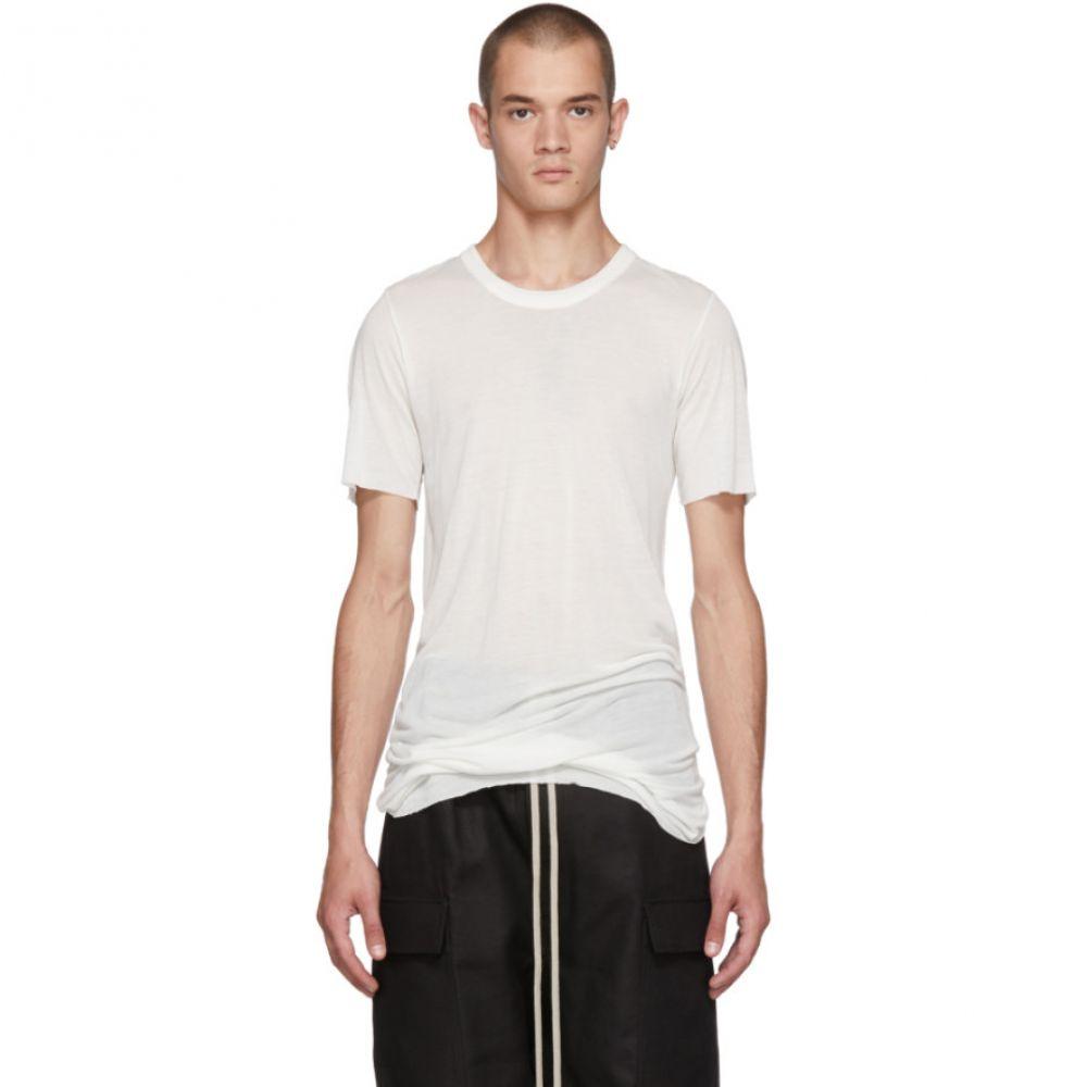 リック オウエンス メンズ トップス Tシャツ【Off-White Basic T-Shirt】