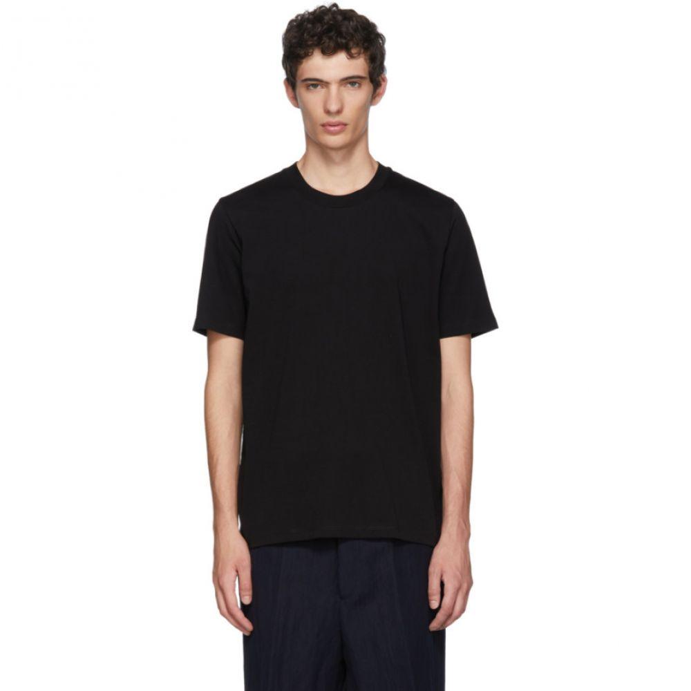 ジル サンダー メンズ トップス Tシャツ【Black Cotton T-Shirt】