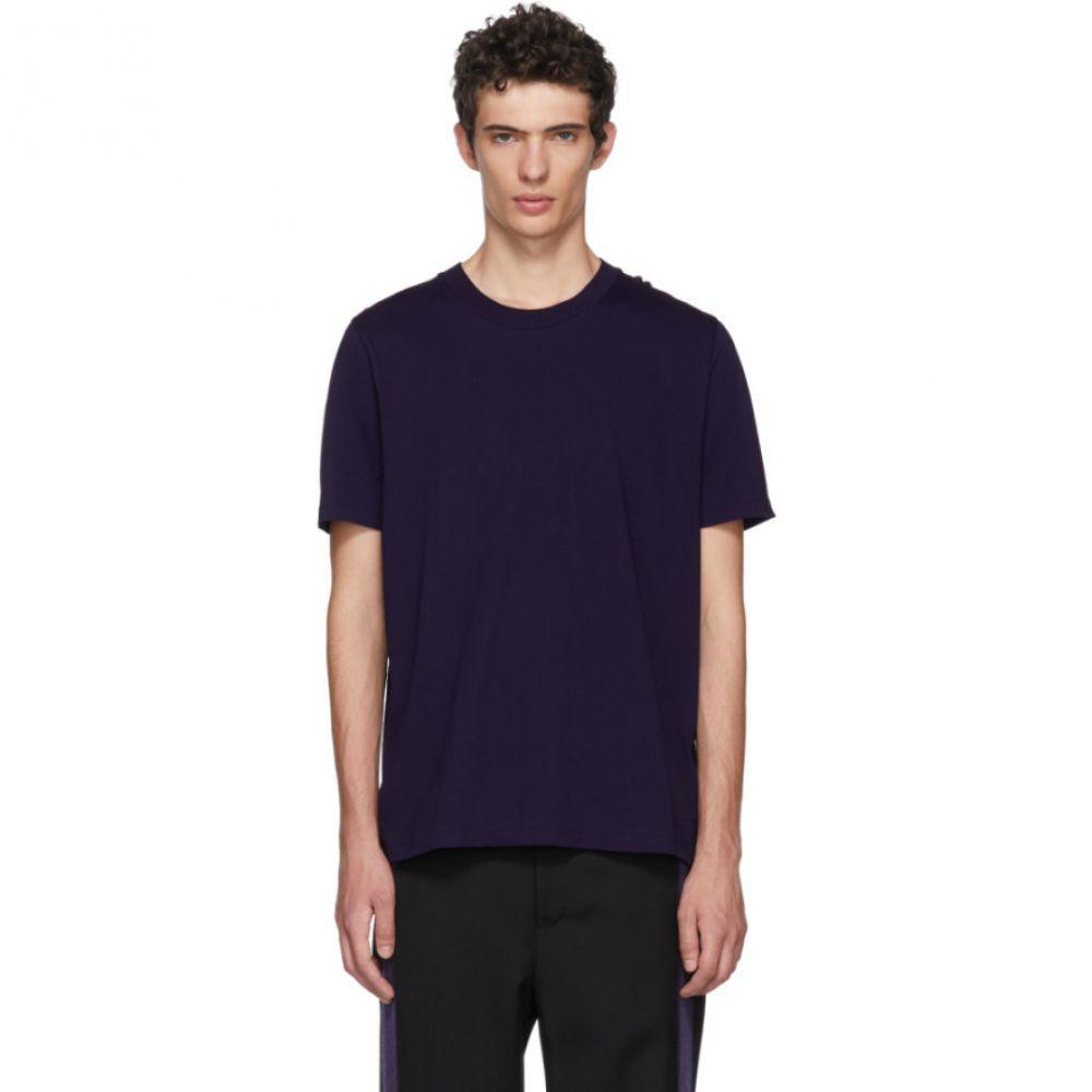 ジル サンダー メンズ トップス Tシャツ【Purple Cotton T-Shirt】