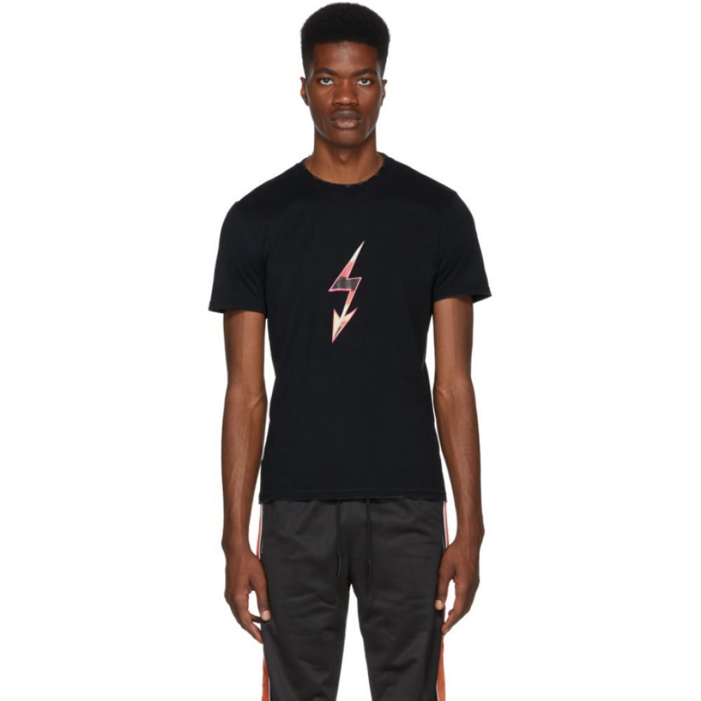 ジバンシー メンズ トップス Tシャツ【Black 'Mad Love Tour' T-Shirt】