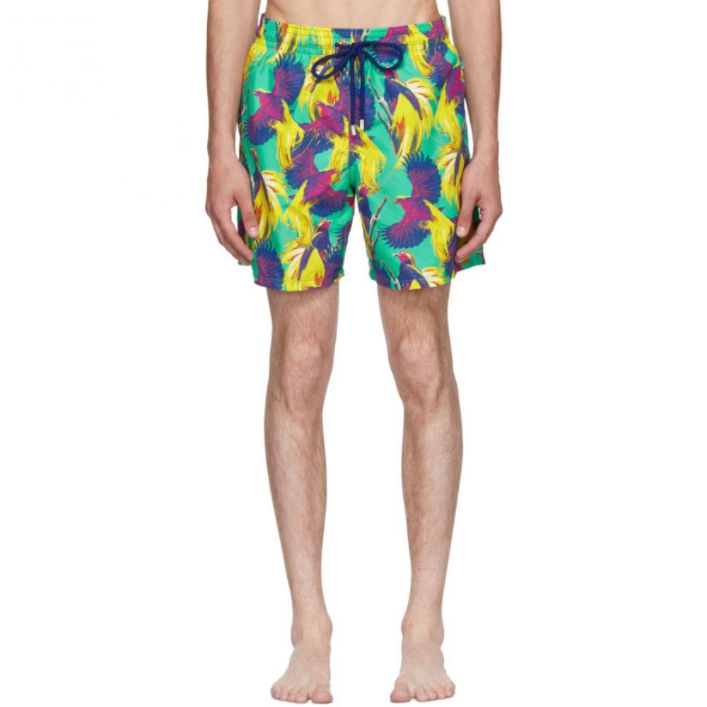 ヴィルブレクイン メンズ 水着・ビーチウェア 海パン【Multicolor Moorea Birds Of Paradise Swim Shorts】