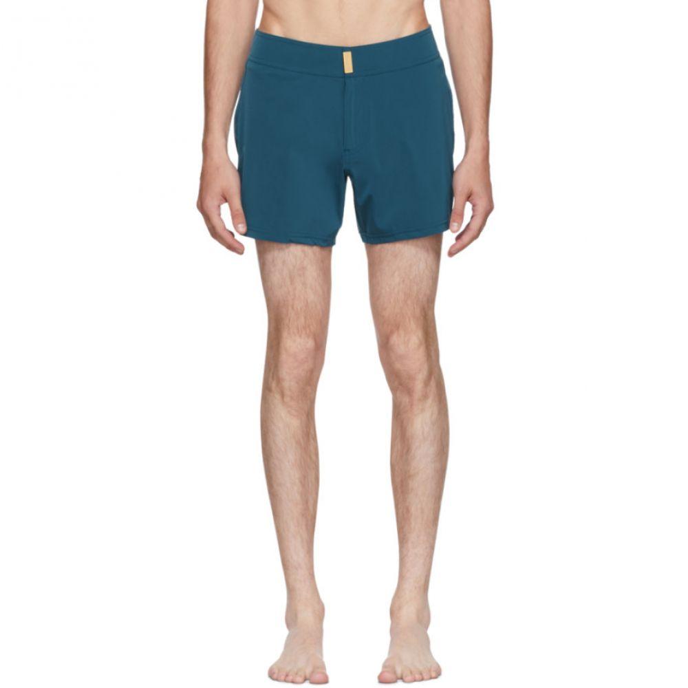 ヴィルブレクイン メンズ 水着・ビーチウェア 海パン【Blue Midnight Jersey Smoking Swim Shorts】