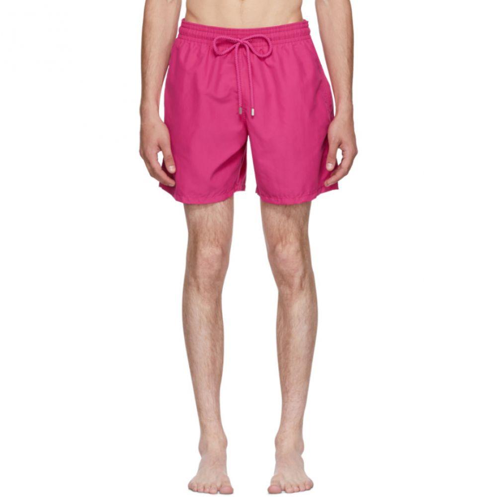 ヴィルブレクイン メンズ 水着・ビーチウェア 海パン【Pink Moorea Shorts】