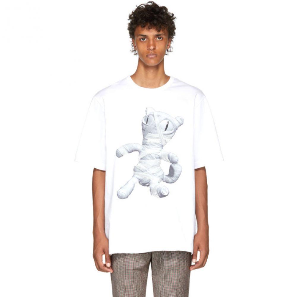 ジュン.J メンズ トップス Tシャツ【White Cat Mummy T-Shirt】